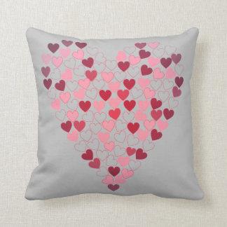 My heart of hearts cushion