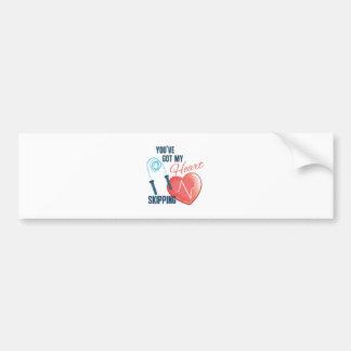 My Heat Skipping Bumper Sticker