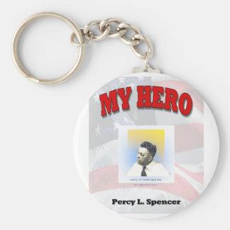 MY HERO PERCY SPENCER KEY RING