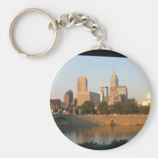 My Hometown  Indy Photoshoot by Dale Wilhelm Key Ring