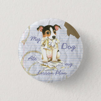 My JRT Ate my Lesson Plan 3 Cm Round Badge
