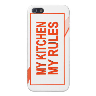 My Kitchen My Rules Fun Design for Kitchen Boss Cases For iPhone 5