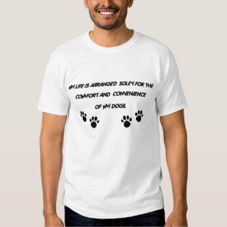 MY LIFE IS ARRANGED   ladies nightie - Customized Tee Shirts
