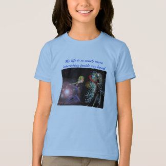 My life is so much more interesting inside... t-shirts
