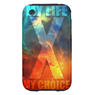 My Life, My Choice iPhone 3G Case iPhone 3 Tough Cases