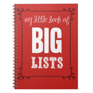 My Little Book of Big Lists