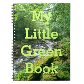 My Little Green Book Note Books