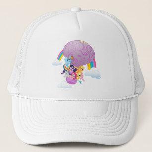 My Little Pony   Mane 6 Balloon Ride Trucker Hat