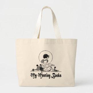 My Meeting Books Tote Bag