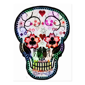 My mexican Skull Postcard