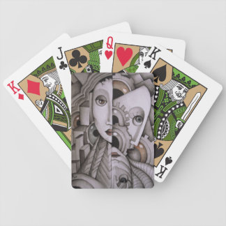 My Mind Abstract Playing Cards