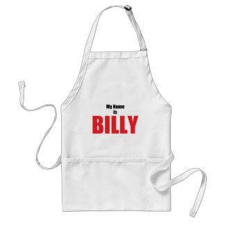 My Name is Billy Standard Apron