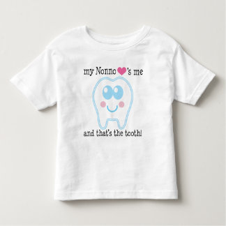 My Nonno Loves Me Tooth Toddler T-Shirt