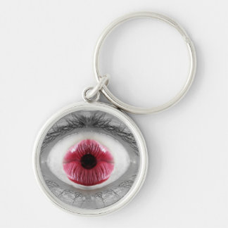My Om Eye Keychain - Red