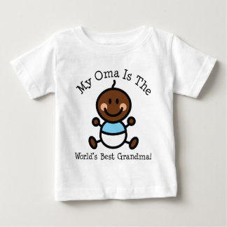 My Oma is The Worlds Best Grandma Ethnic Baby T-Shirt