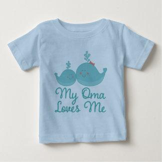 My Oma Loves Me grandchild gift t-shirt