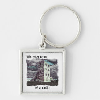 My other home is a castle keychain
