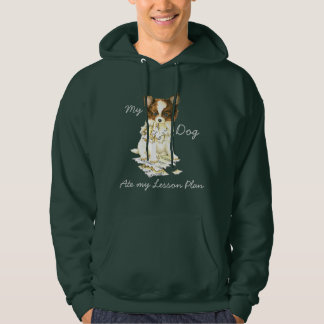 My Papillon Ate My Lesson Plan Hoodie