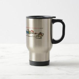 My Personal Trainer Works for Bones Coffee Mug