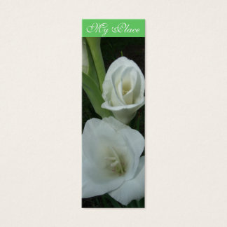 My Place Gladiola Book Mark Mini Business Card