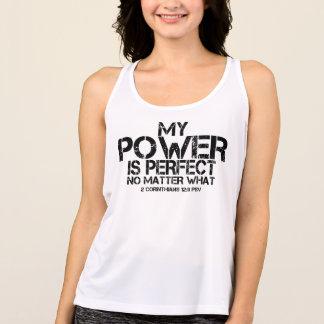 "+ ""MY POWER IS PERFECT"" New Balance Tank"