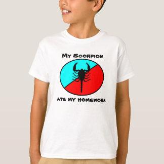 My Scorpion ate my homework T-Shirt