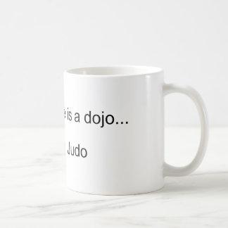 My Second Home is a Dojo Coffee Mug