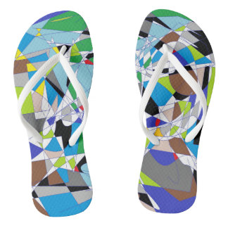 My shattered World Jandals