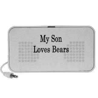 My Son Loves Bears Travel Speaker