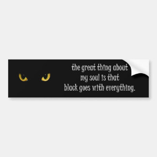 my soul bumper sticker
