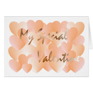 My Special Valentine Card