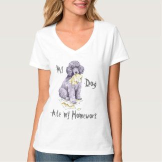 My Standard Poodle Ate my Homework T-Shirt
