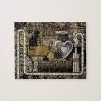 My Steampunk Heart Jigsaw Puzzle
