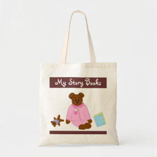 My Story Books Canvas Bag