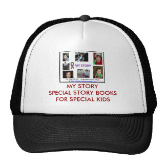 MY STORY SPECIAL STORY BOOK TRUCKER HAT