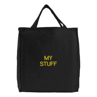 MY STUFF canvas tote bag