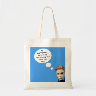 My Superpower Budget Tote Bag