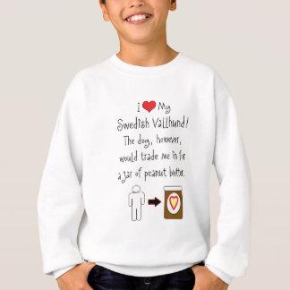 My Swedish Vallhund Loves Peanut Butter Sweatshirt