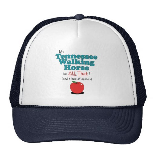 My Tennessee Walking Horse is All That! Mesh Hat
