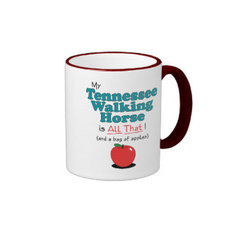 My Tennessee Walking Horse is All That! Ringer Mug