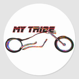 My Tribe Chopper The MUSEUM Zazzle Gifts Stickers
