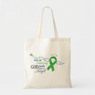 My Uncle An Angel - Bile Duct Cancer Tote Bag