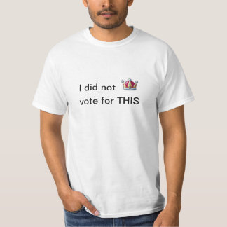 My vote was not for a crown shirt