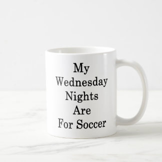 My Wednesday Nights Are For Soccer Coffee Mug