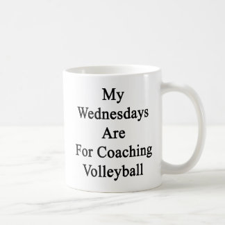 My Wednesdays Are For Coaching Volleyball Coffee Mug