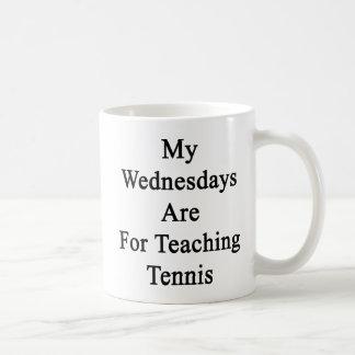My Wednesdays Are For Teaching Tennis. Coffee Mug