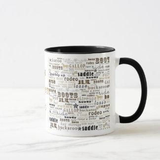 My Western Theme Coffee Cup Mug