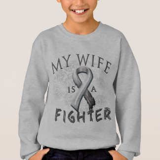My Wife Is A Fighter Grey Sweatshirt