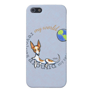 My World Red White Rat Terrier iPhone 5/5S Case