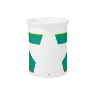 Myanmar (Burma) Flag Pitcher